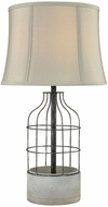 Dimond D3289 Rochefort Polished Concrete Oil Rubbed Bronze Outdoor Foyer Lighting