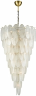Dimond D3309 Hush Contemporary White Pendant Light Fixture