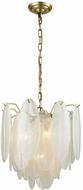 Dimond D3310 Hush Modern White Pendant Lighting Fixture