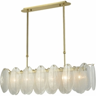 Dimond D3311 Hush Contemporary White Island Lighting