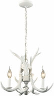 ELK Home D3316 Big Sky Modern White Mini Chandelier Lighting