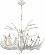 ELK Home D3317 Big Sky Contemporary White Lighting Chandelier