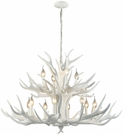 ELK Home D3318 Big Sky Modern White Chandelier Lamp