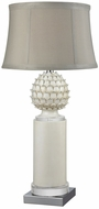 Dimond D3389 Place Dauphine White Glaze Table Top Lamp