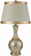Dimond D3462 Honolulu Antique Silver Mercury Gold Table Lamp