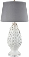 Dimond D3498 Fontvieille Matte White Table Lighting