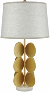 Dimond D3509 Cotillion White Marble And Gold Metal Table Lighting