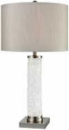 Dimond D3514 Slush Clear Antique Nickel Table Lamp Lighting