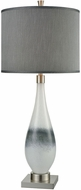 Dimond D3516 Vapor White Grey Brushed Nickel Table Top Lamp