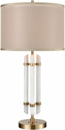 Dimond D3519 Embassy Cafe Bronze And White Faux Alabaster Table Lamp Lighting