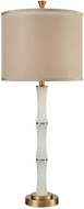 Dimond D3521 Konsul White Alabaster Cafe Bronze Side Table Lamp