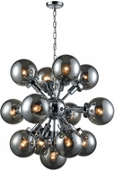 ELK Home D3541 Ballistic Modern Chrome Chandelier Light