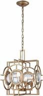 ELK Home D3553 Lens Flair Matt Gold Foyer Light Fixture