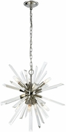 ELK Home D3568 Ice Geist Polished Nickel Clear Crystal Mini Lighting Chandelier