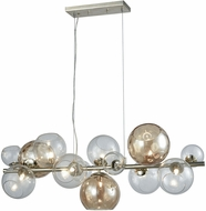 ELK Home D3599 Bubble Modern Silver Leaf Halogen Kitchen Island Light Fixture