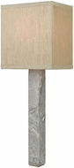 ELK Home D3686 Londinium Modern Grey Marble And Aged Brass Lamp Sconce