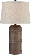 Dimond D3764 Alamo Dark Brown Side Table Lamp