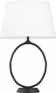 ED Ellen DeGeneres ET1001AI1 Indo Modern Aged Iron Table Lamp Lighting