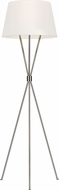 ED Ellen DeGeneres ET1071PN1 Penny Modern Polished Nickel Lighting Floor Lamp
