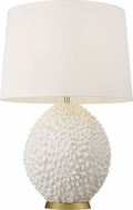 ED Ellen DeGeneres ET1131BBS1 Anhdao Burnished Brass / Matte White Table Light