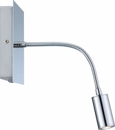 EGLO 200091A Lire Contemporary Chrome LED Gooseneck Wall Lamp