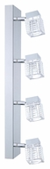 EGLO 200262A Quarto 4 Lamp Combination Ceiling & Wall Light - Chrome