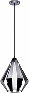 EGLO 200752A Taroca Contemporary Black Chrome Mini Pendant Lighting