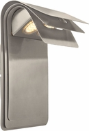 EGLO 200889A Sojo Modern Brushed Stainless Steel LED Exterior Lighting Wall Sconce