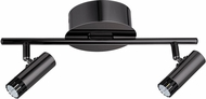 EGLO 201225A Lianello Contemporary Black Chrome LED 2-Light Track Lighting Fixture