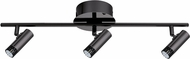 EGLO 201226A Lianello Modern Black Chrome LED 3-Light Home Track Lighting