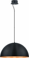 EGLO 201294A Gaetano Modern Black/Gold LED 23.5  Lighting Pendant