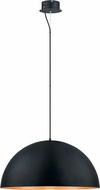 EGLO 201295A Gaetano Contemporary Black/Gold LED 31.5  Pendant Lamp