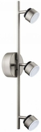 EGLO 201452A Armento Contemporary Matte Nickel LED Home Track Lighting