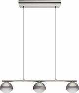 EGLO 201464A Lombes Modern Matte Nickel LED Island Lighting