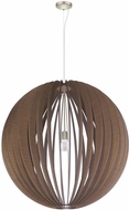 EGLO 201602A Cossano Contemporary Satin Nickel Hanging Pendant Lighting