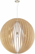 EGLO 201603A Cossano Modern Satin Nickel Hanging Pendant Light