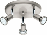 EGLO 202376A Buzz 2 Contemporary Matte Nickel Halogen Indoor Spot Lighting