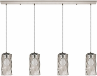 EGLO 202404A Estevau Contemporary Satin Nickel Multi Lighting Pendant