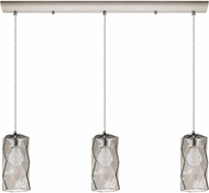 EGLO 202408A Estevau Modern Satin Nickel Multi Pendant Lamp