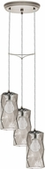 EGLO 202409A Estevau Contemporary Satin Nickel Multi Hanging Lamp