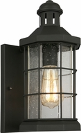 EGLO 202785A San Mateo Creek Matte Black Exterior 6  Light Sconce