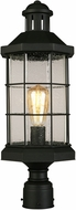 EGLO 202799A San Mateo Creek Matte Black Exterior Post Lighting