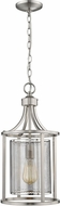 EGLO 202811A Verona Modern Brushed Nickel 10  Foyer Lighting