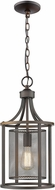 EGLO 202812A Verona Contemporary Oil Rubbed Bronze 10  Foyer Light Fixture