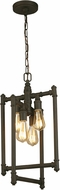 EGLO 202836A Wymer Contemporary Matte Bronze Foyer Lighting Fixture