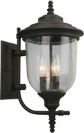 EGLO 202876A Pinedale Matte Bronze Exterior Wall Sconce