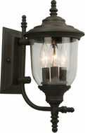 EGLO 202877A Pinedale Matte Bronze Outdoor Wall Lamp
