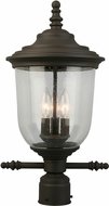 EGLO 202878A Pinedale Matte Bronze Exterior Post Light