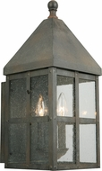 EGLO 202884A Creston Creek Traditional Zinc Outdoor 8  Sconce Lighting