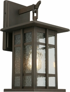 EGLO 202888A Arlington Creek Matte Bronze Exterior 9.5  Lamp Sconce